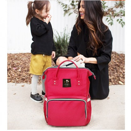Baby Care Mummy Diaper Cart Bag Backpack