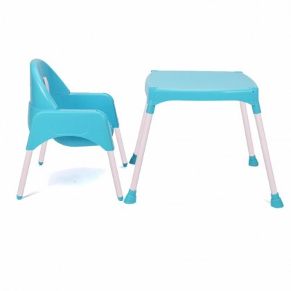3 in 1 Kid Dinning Seat + Study Table + Chair