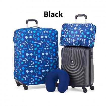 (Bundle)Kamiliant Kapa Plus 27000DU 5-in-1 (20 + 28) Luggage Set + Organizer