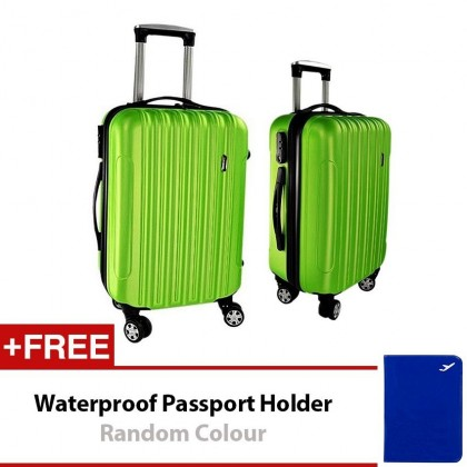 A01 Hard Case ABS Luggage 2 in1 Set 1