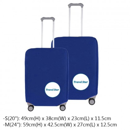 (Bundle 6 in 1) 218 Business Roilling Hard Case Suitcase Set Luggage(20+24 inch)