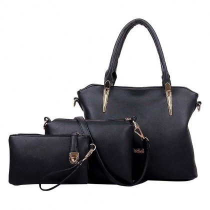 BB Series Premium PU Bags (Set of 3)-Available in 3 colours