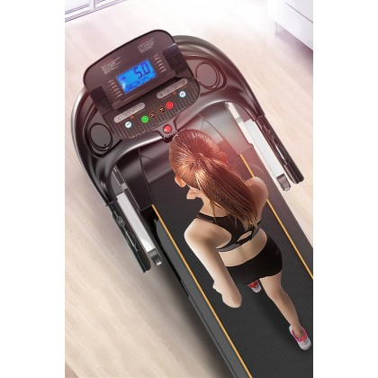 SKN SPORT K11 Multifunctional 4.0HP Treadmill Electric Treadmill Threadmill Foldable Type Strong Structure Sustain Weight Up to 150kg Up to 14 KM/H Adjustable Slope Build In Speaker 14 Training Mode Fitness Gym Training fulfilled by Sokano Shop